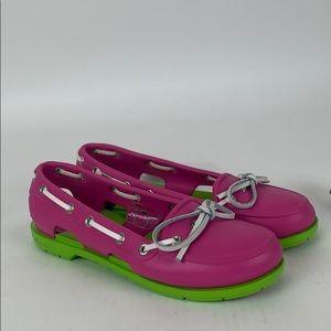 Crocs Beach Line Boat Shoes